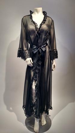 Black Peignoir