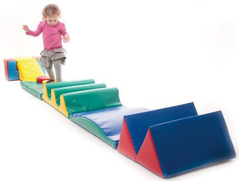 Foam Play hurdles