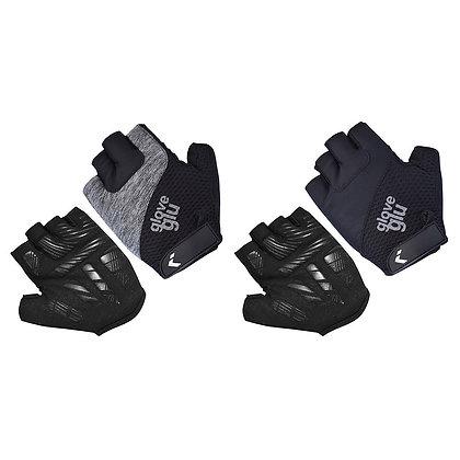 GloveGlu half finger gloves