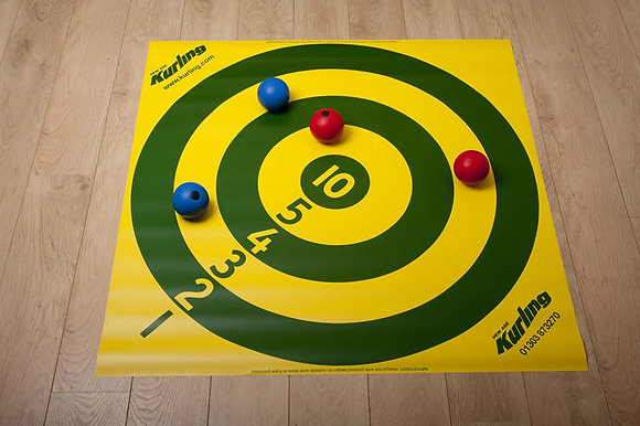 Kurling Numbered Target