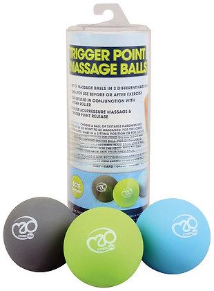 Fitness Mad Massage Balls - set of 3