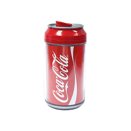 Cool Gear Coke Cola Can 12oz- Red