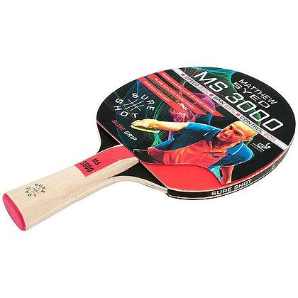 Sure Shot Matthew Syed 3000 1mm Reversed Rubber Table Tennis Bat