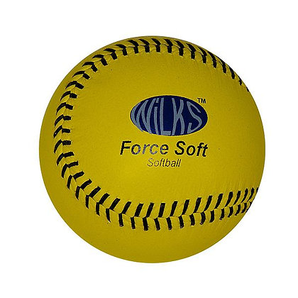 Wilks Forces Soft Softball Ball
