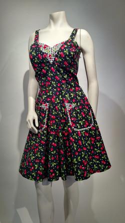 SOLD Cotton Cherry dress