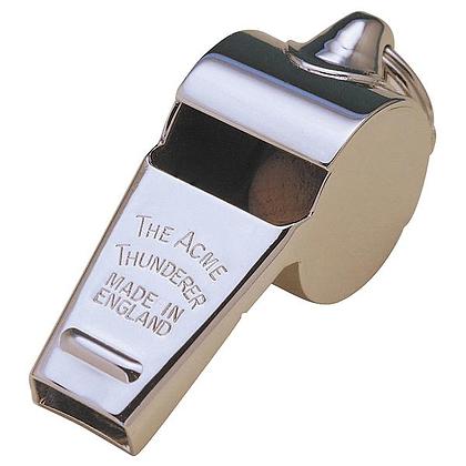 Acme Thunderer Metal Whistle Med 59.5
