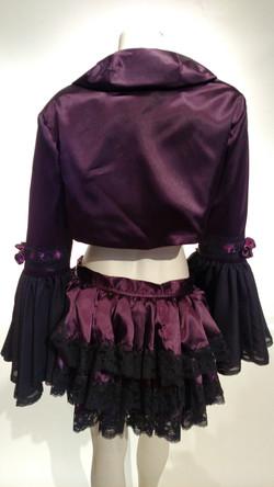 Steampunk jacket/bustle