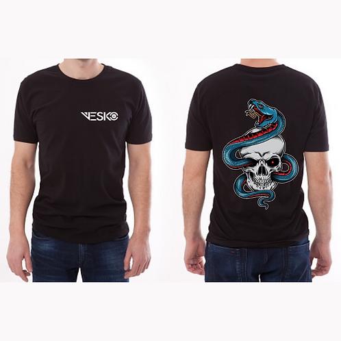 Camiseta serpiente