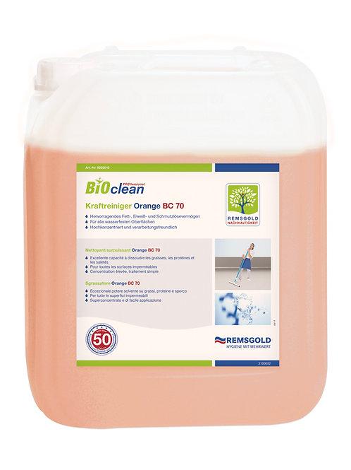 BIOclean PROfessional Kraftreiniger Orange BC 70 // 10 kg