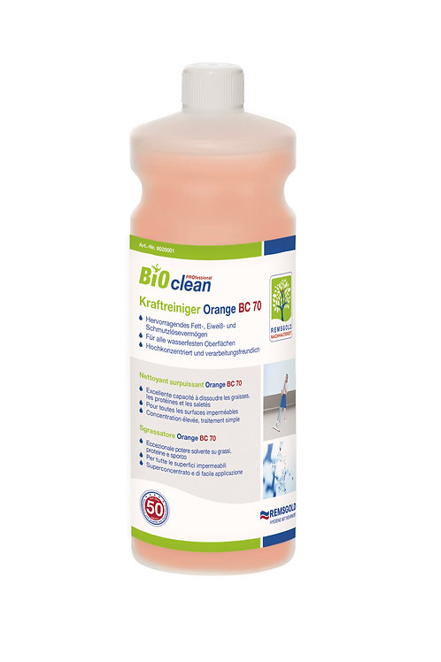 BIOclean PROfessional Kraftreiniger Orange BC 70 // 1 l