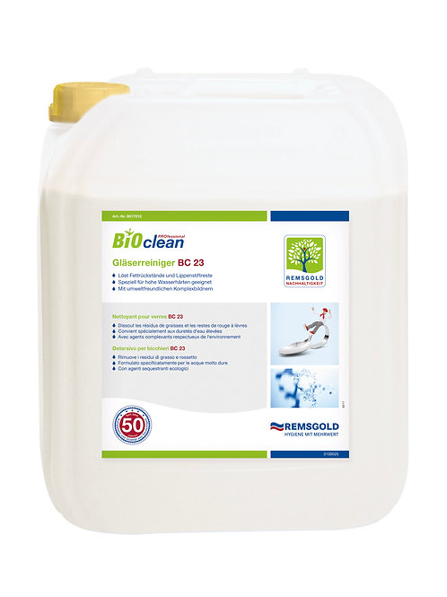 BIOclean PROfessional Gläserreiniger BC 23 // 5 kg