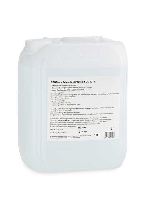 REGOsan DS 4010 Schnelldesinfektion // 10 l