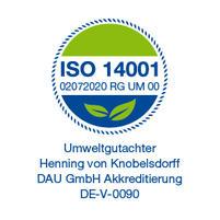 Logo ISO 14001