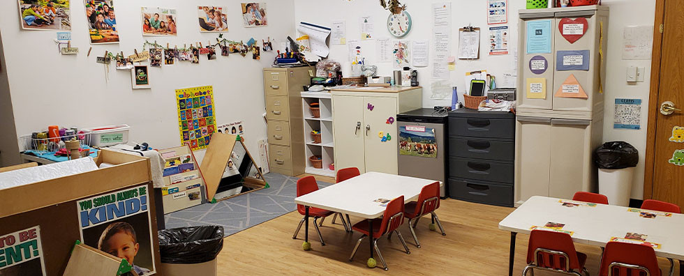 two year olds Classroom at Share & Care1