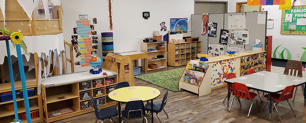 Three year olds Classroom at Share & Car