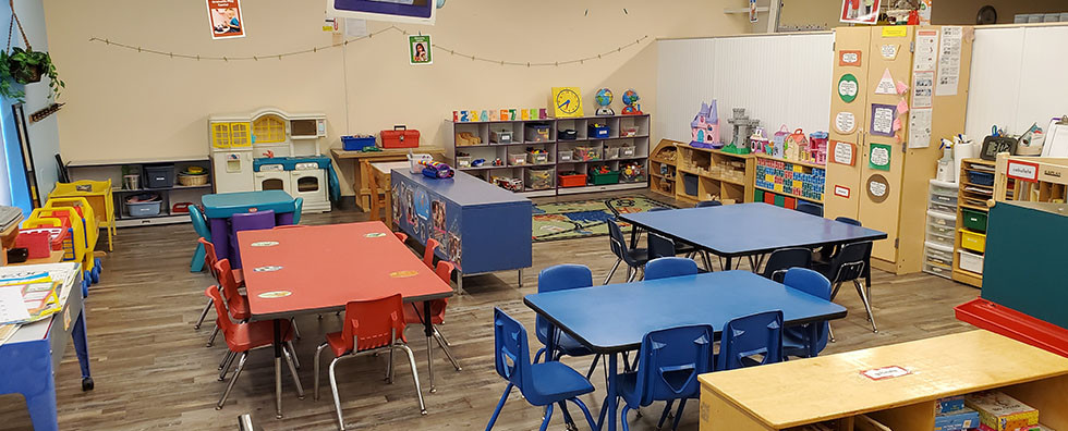 Pre-kindergarten Classroom at Share & Ca