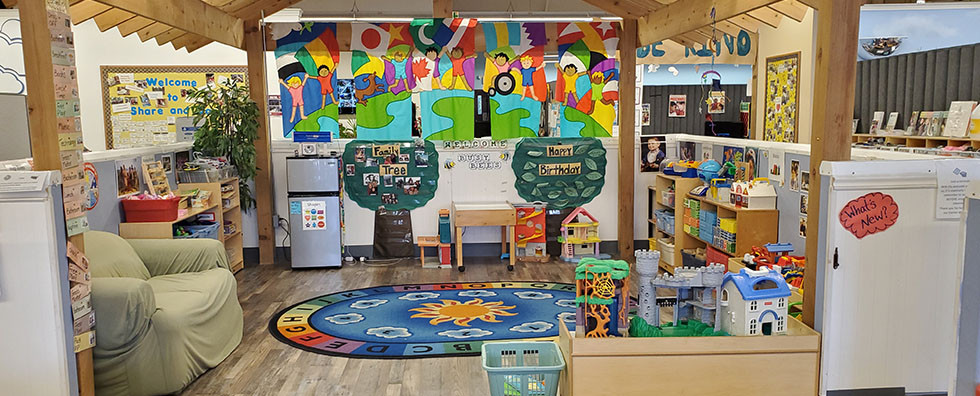 Four year olds Classroom at Share & Care