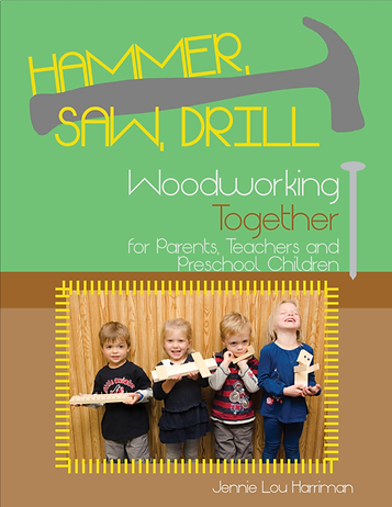Children's woodworking book by Jennie Harriman