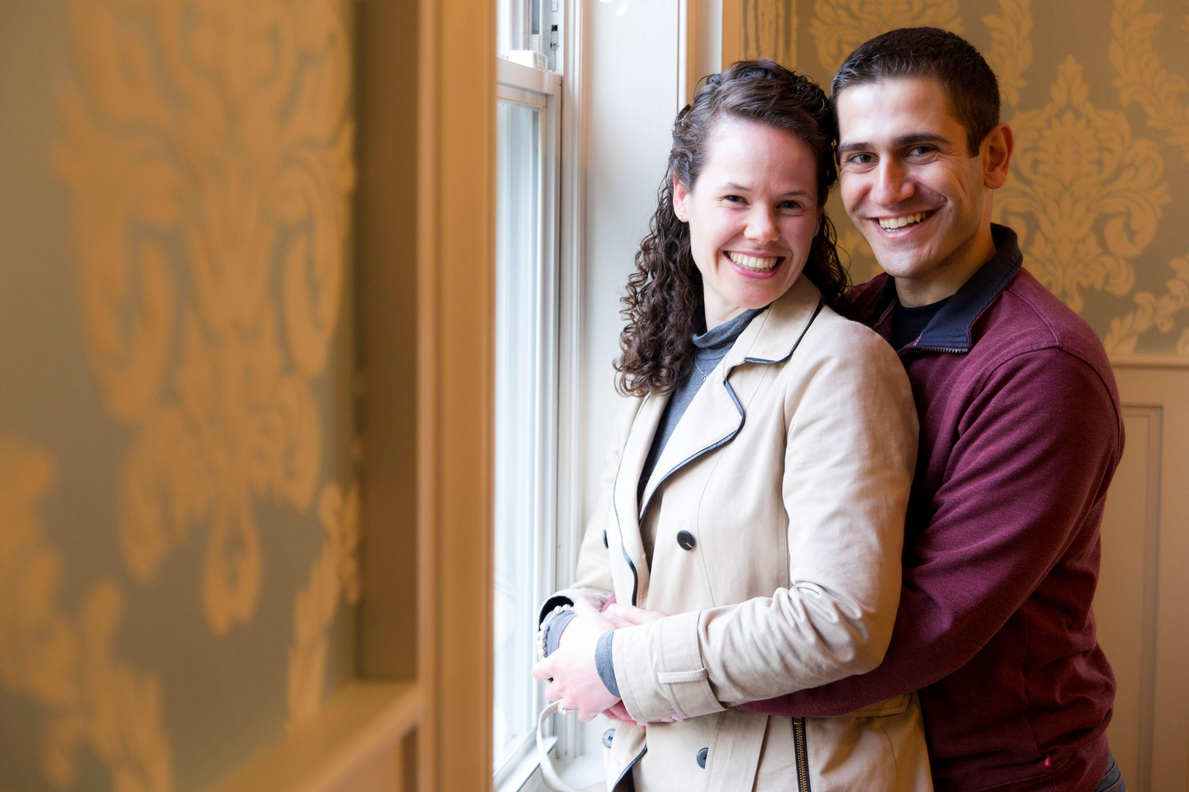 Hillary and Hagop Engagement shoot