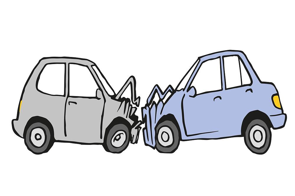 Krockade bilar