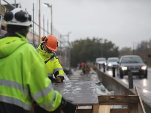 5 steg till en säkrare vägarbetsplats