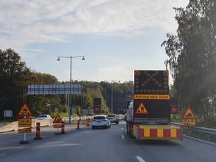 Hur många olyckor sker egentligen vid vägarbeten?