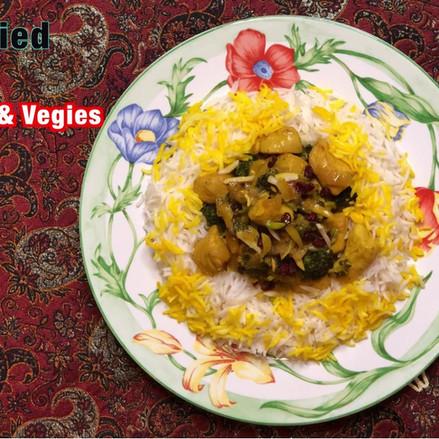 Stir Fried Chicken & Vegies