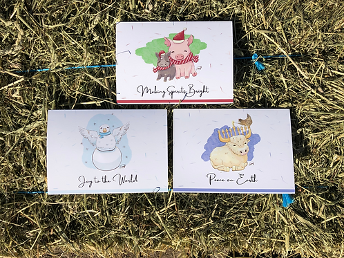 Unity Holiday Cards (6  Pack - Single or Mixed Design)