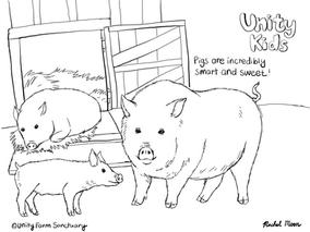UnityFarmSanctuary_ColoringPage_Pigs_Thu
