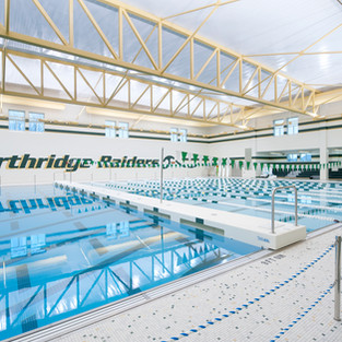 Northridge High School - Natatorium