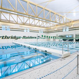Northridge High School - Natatorium