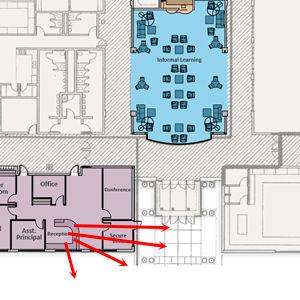 Secure Entrances   Why Natural Surveillance Matters in K-12 Design