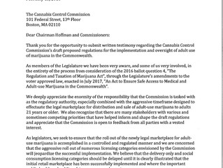 Driscoll and Colleagues Tell the CCC to Slow Down
