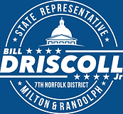 State Representative Bill Driscoll, 7th Norfolk District, Milton and Randolph