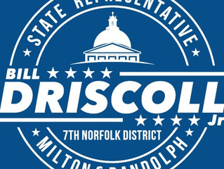 Statement from Representative William Driscoll, Jr.