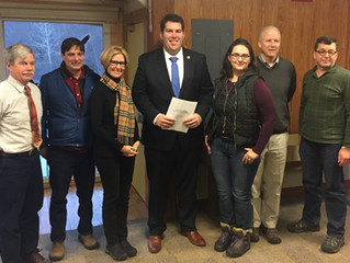 """Rep. Driscoll Meets with """"A Better Blue Hills Coalition"""""""