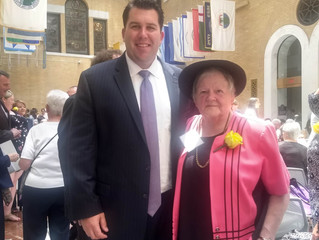 Milton Resident Honored at State House Event