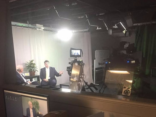 Driscoll Interviewed on Local TV Station