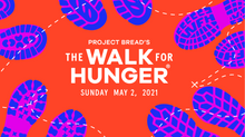 Rep. Driscoll Participates in Project Bread's Walk for Hunger