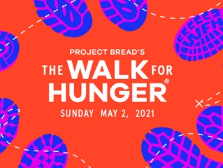 Rep. Driscoll Participates in Project Bread's Walk for Hunger