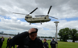 G20 - Hubschrauber-Übung