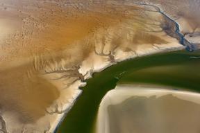Wattenmeer aus der Luft