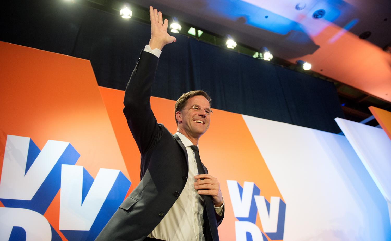 Mark Rutte gewinnt die Wahl