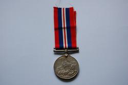 Frank's War Service Medal (Front)