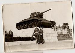 1946 Berlin Russian Tank Memorial
