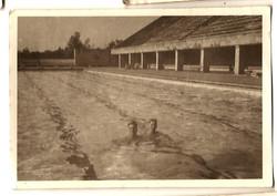 1946 Frank at Berlin Olympic Stadium Swimming Pool
