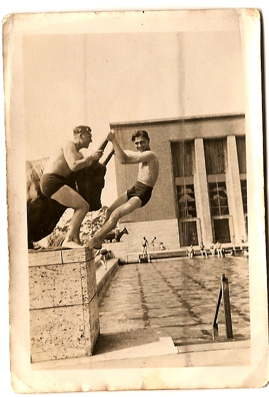 1946 Berlin Olympic Stadium Swimming Pool