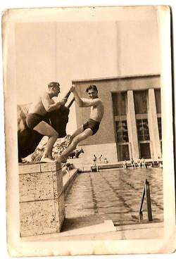 1946 Berlin Olympic Stadium Swimming Pool