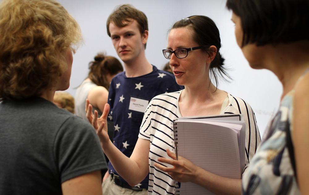 David Poole Talent Campus 2.0 London Screenwriters' Festival 2016