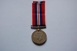 Frank's War Service Medal (Reverse)